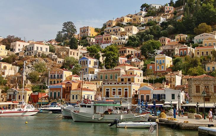 Пристань в Греции